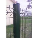 kit de clôture en panneaux rigide